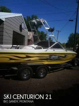 Used Boats For Sale in Montana by owner | 2006 Ski Centurion 21