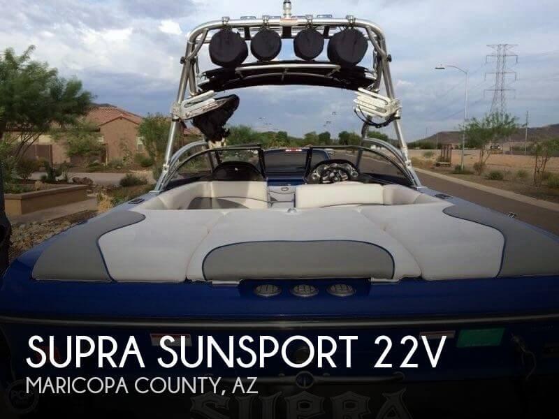 2008 Supra Sunsport 22V for sale