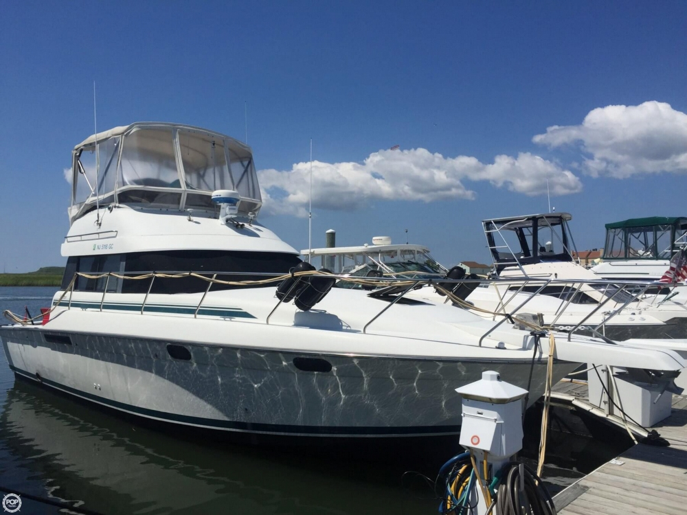 1992 silverton 37 fishing boat for sale in wildwood crst nj for Fishing boats for sale nj