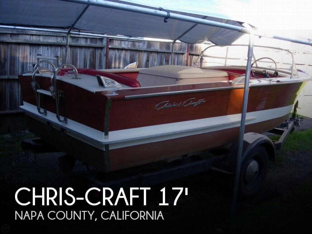 1963 Chris-Craft 17 Custom Ski - Photo #1