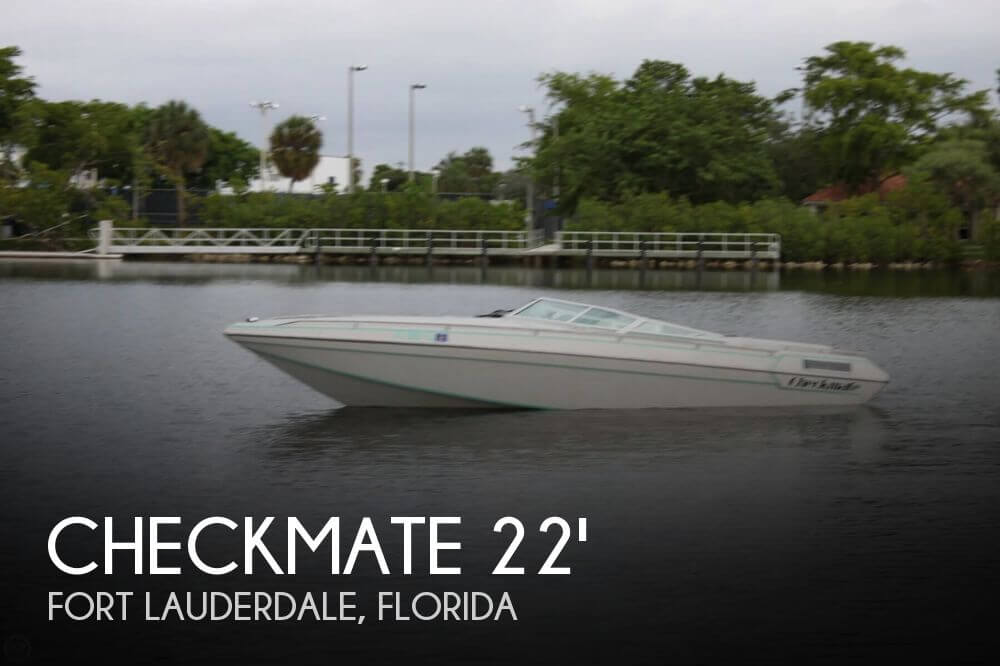 Used Checkmate Boats For Sale by owner | 1990 Checkmate 22
