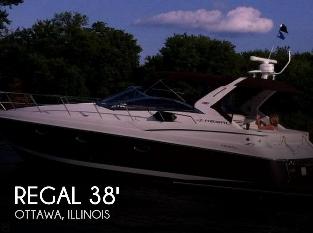 Used Boats For Sale in Illinois by owner | 2002 Regal 38