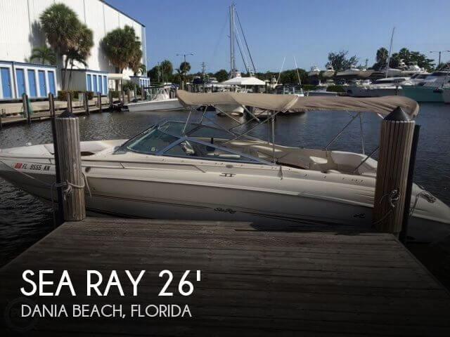 1999 Sea Ray 260 Signature Select - Photo #1