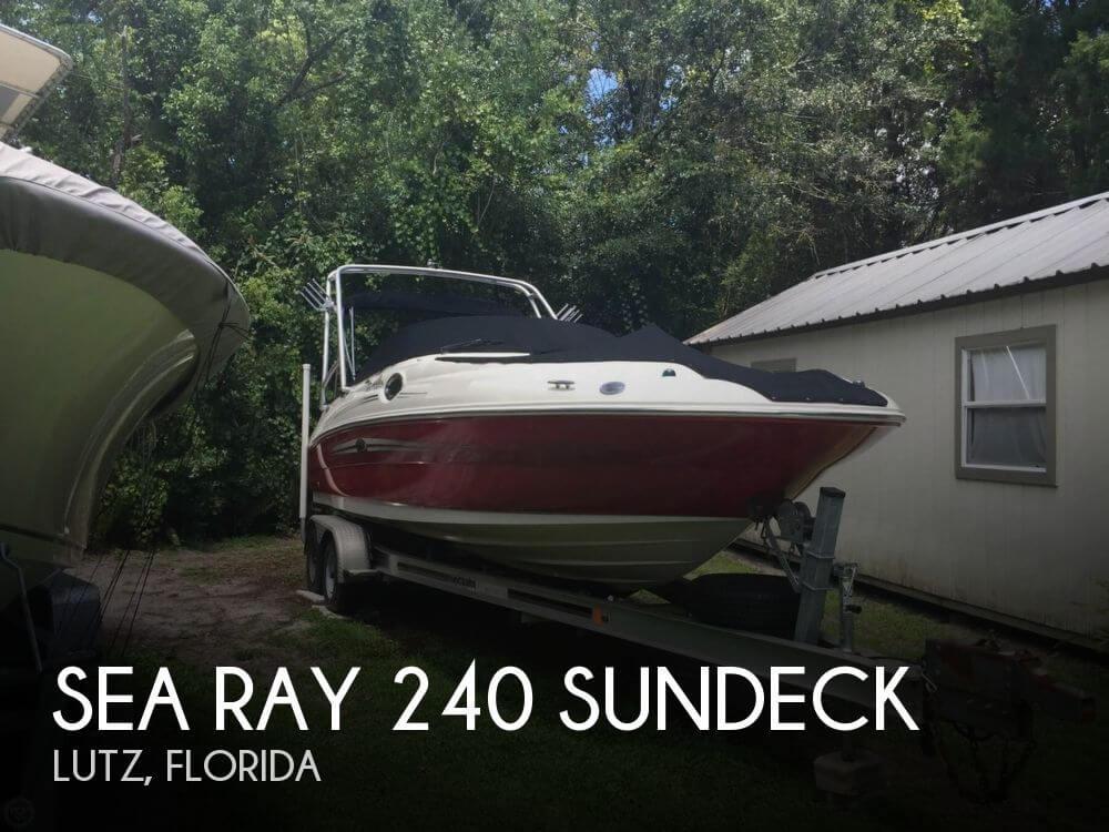 2007 Sea Ray 240 Sundeck - Photo #1