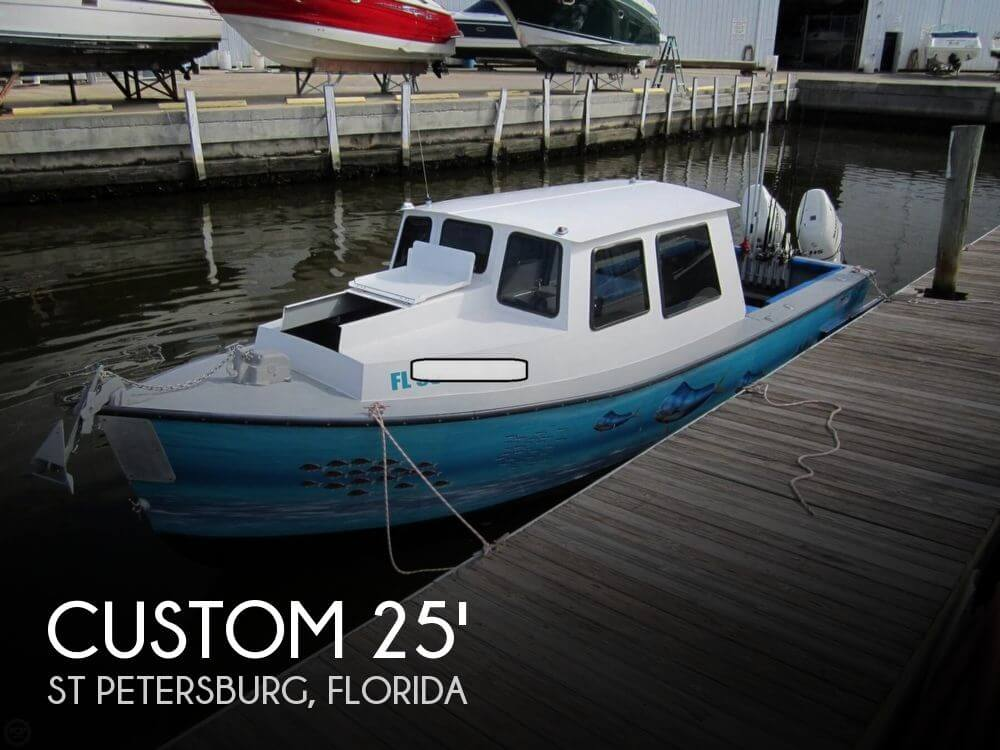 2015 Custom boat for sale, model of the boat is 25 Pilothouse & Image # 1 of 41