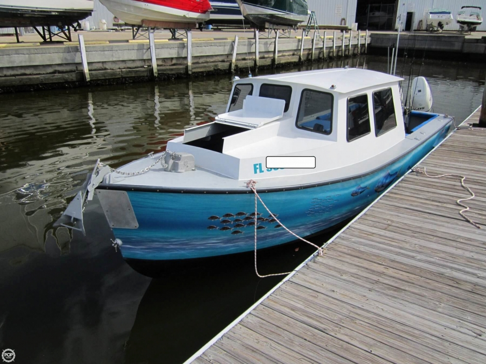 2015 Custom boat for sale, model of the boat is 25 Pilothouse & Image # 2 of 41
