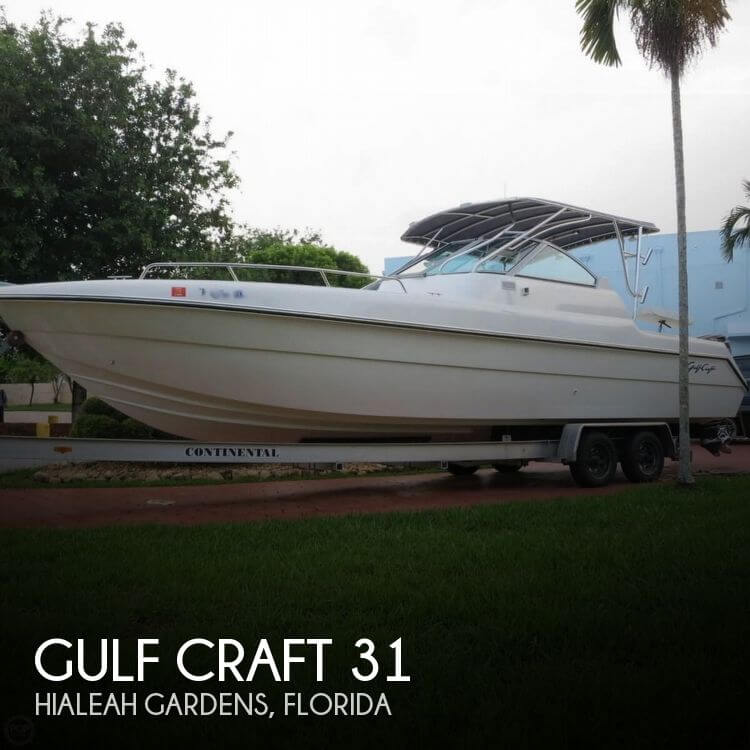 2006 gulf craft 31 power boat for sale in hialeah gardens fl for Gulf craft boats for sale