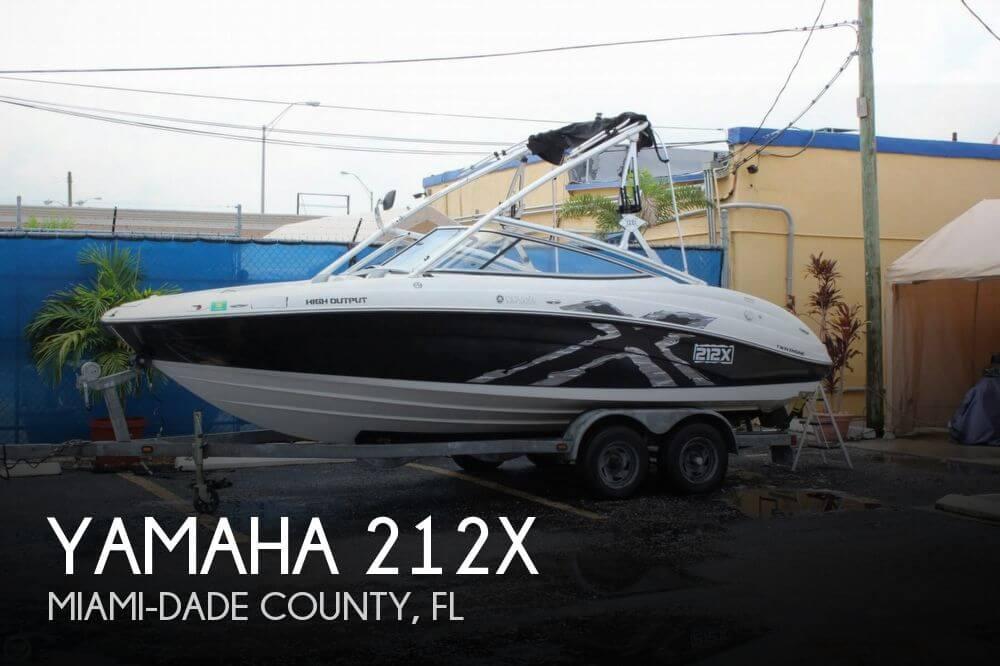 Canceled yamaha 212x boat in miami fl 087062 for Yamaha dealer miami