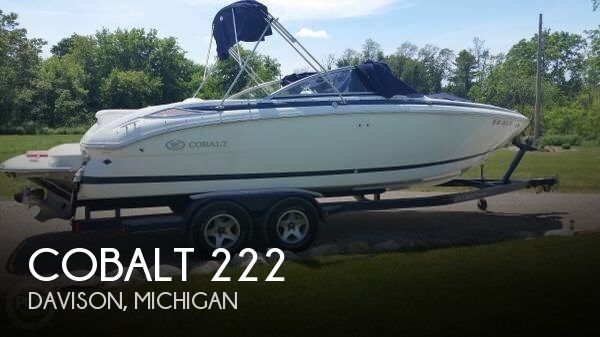 Used Boats For Sale in Lansing, Michigan by owner | 2007 Cobalt 22