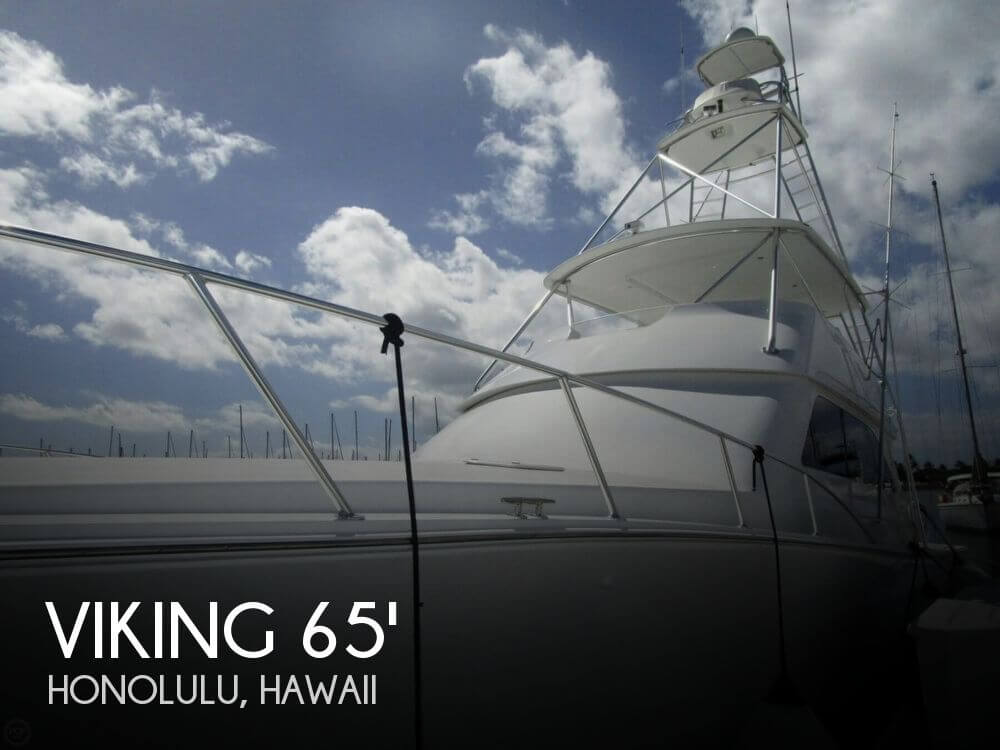 Used Boats For Sale in Honolulu, Hawaii by owner | 2004 Viking 65