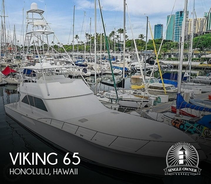 2005 Viking boat for sale, model of the boat is 65 Convertible & Image # 1 of 41