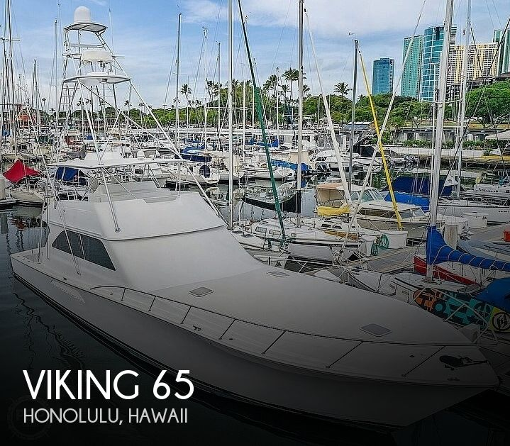 2005 VIKING 65 CONVERTIBLE for sale