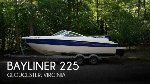Used Deck Boats For Sale in Virginia by owner | 2006 Bayliner 22