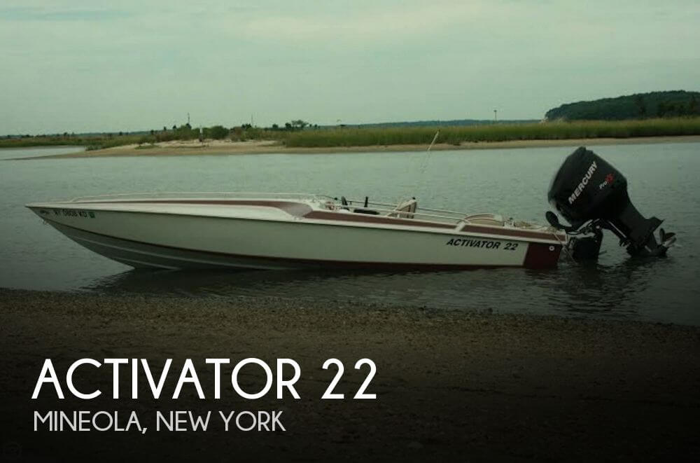 Used Activator Boats For Sale by owner | 1989 Activator 22