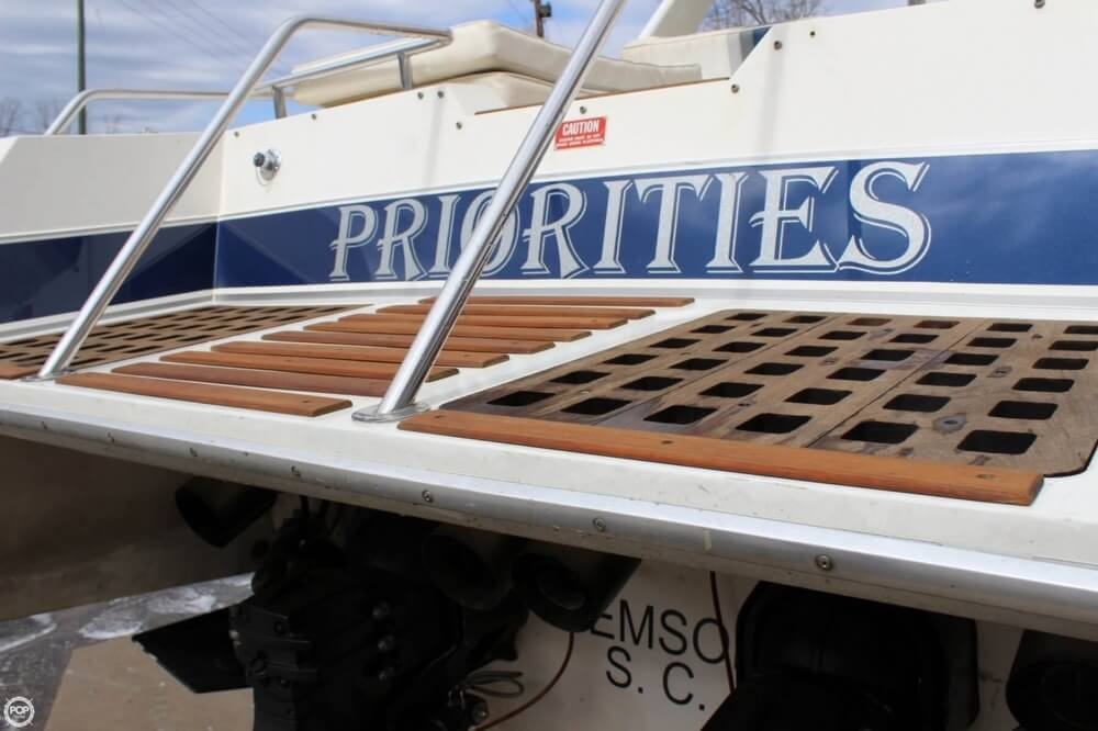 1986 Wellcraft boat for sale, model of the boat is 42 Excalibur Eagle & Image # 11 of 40