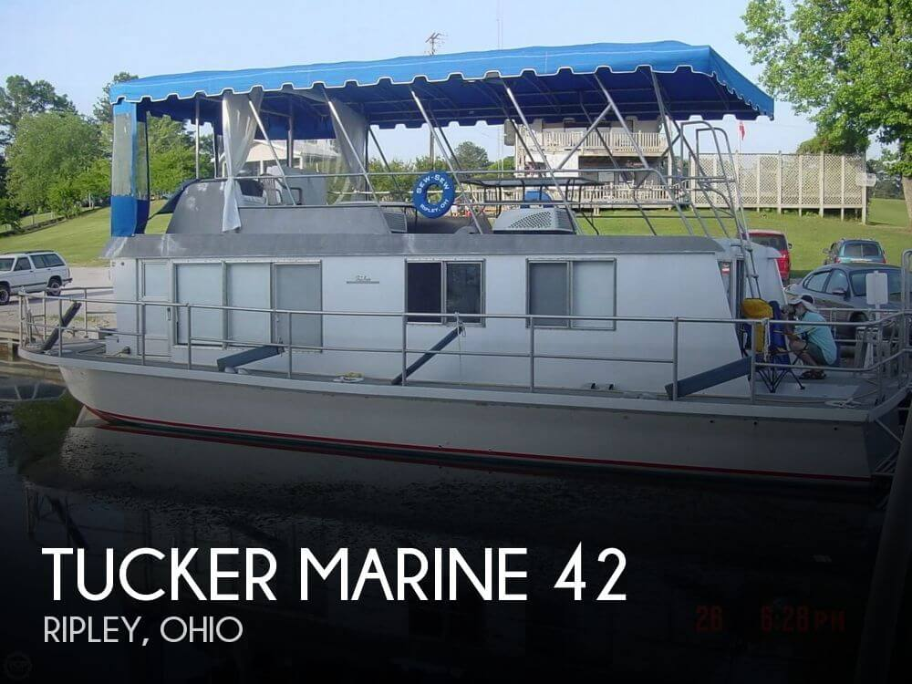 Used Boats For Sale in Cincinnati, Ohio by owner | 1968 Tucker Marine 42