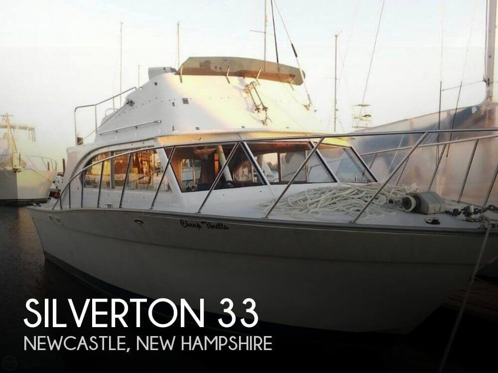 Boats For Sale   1974 33 foot Silverton 33