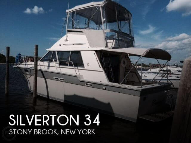 Used Silverton Fishing boats For Sale by owner | 1987 Silverton 34