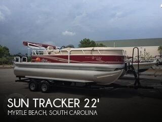 Used Pontoon Boats For Sale in South Carolina by owner | 2014 Sun Tracker 22