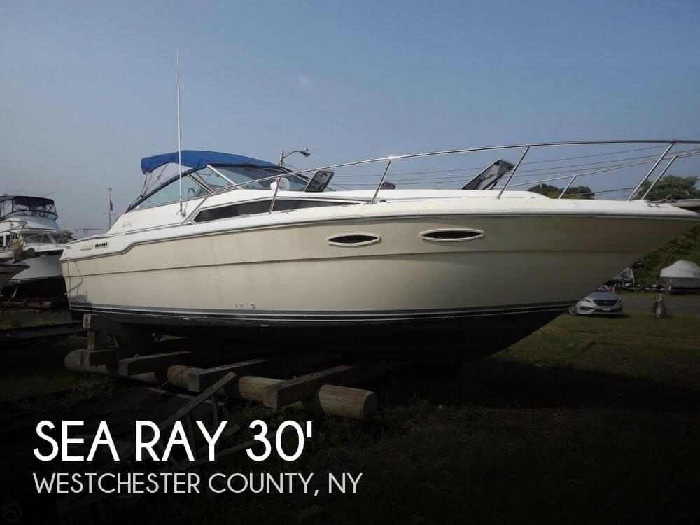 1986 Sea Ray 300 Express Cruiser - Photo #1