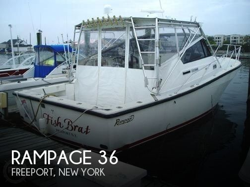 Used Rampage Boats For Sale by owner | 1991 Rampage 36