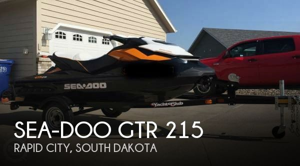 2014 SEA DOO PWC GTR 215 for sale