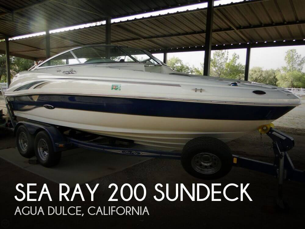 2004 Sea Ray 200 Sundeck - Photo #1