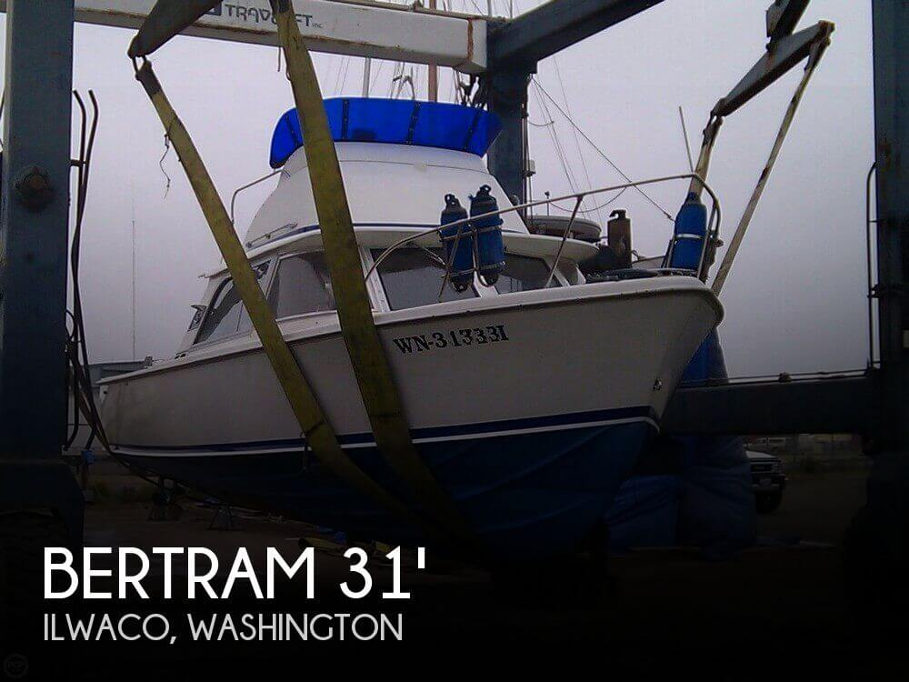 1962 Bertram 31 Sport Fisher - Photo #1