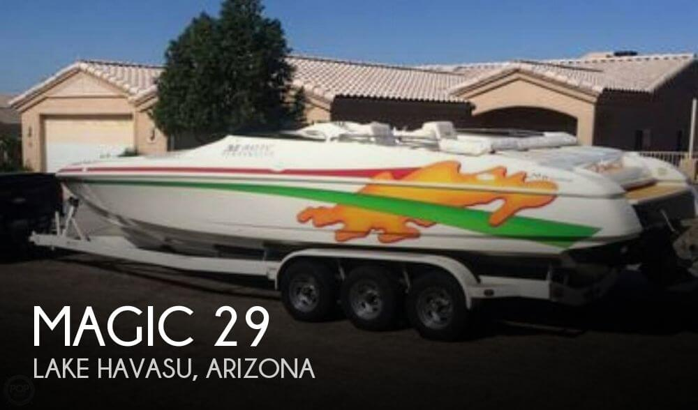 Used Magic Boats For Sale by owner | 2001 Magic 29