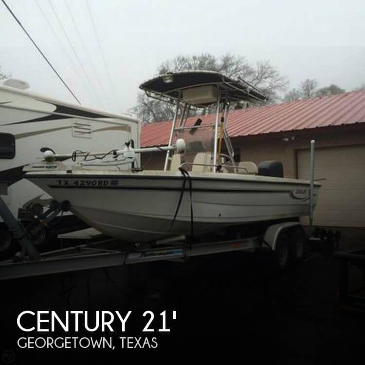 21 Foot Century 21 21 Foot Motor Boat In Andice Tx