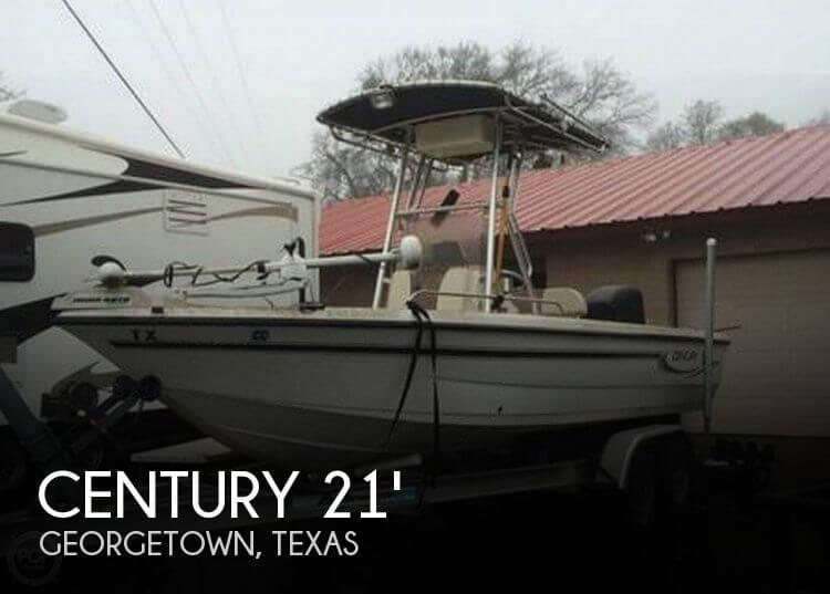 2004 Century 2101 CC Bay Boat - Photo #1