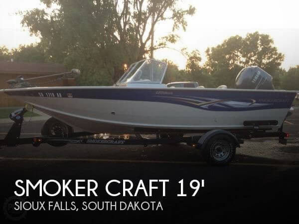 2008 Smoker Craft boat for sale, model of the boat is 192 Ultima & Image # 1 of 13