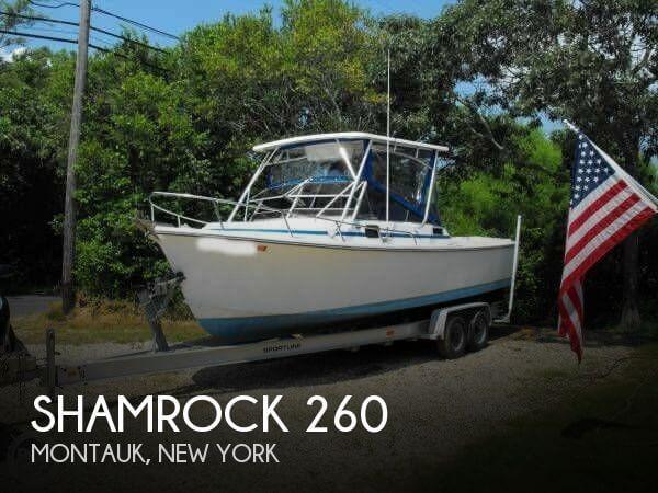 1986 Shamrock 260 - Photo #1