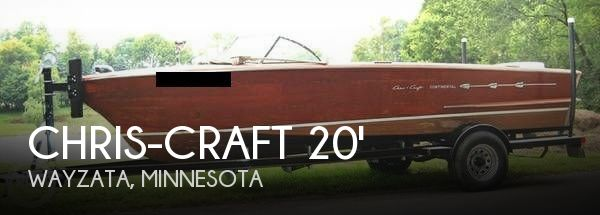 1957 Chris-Craft 20 Continental - Photo #1