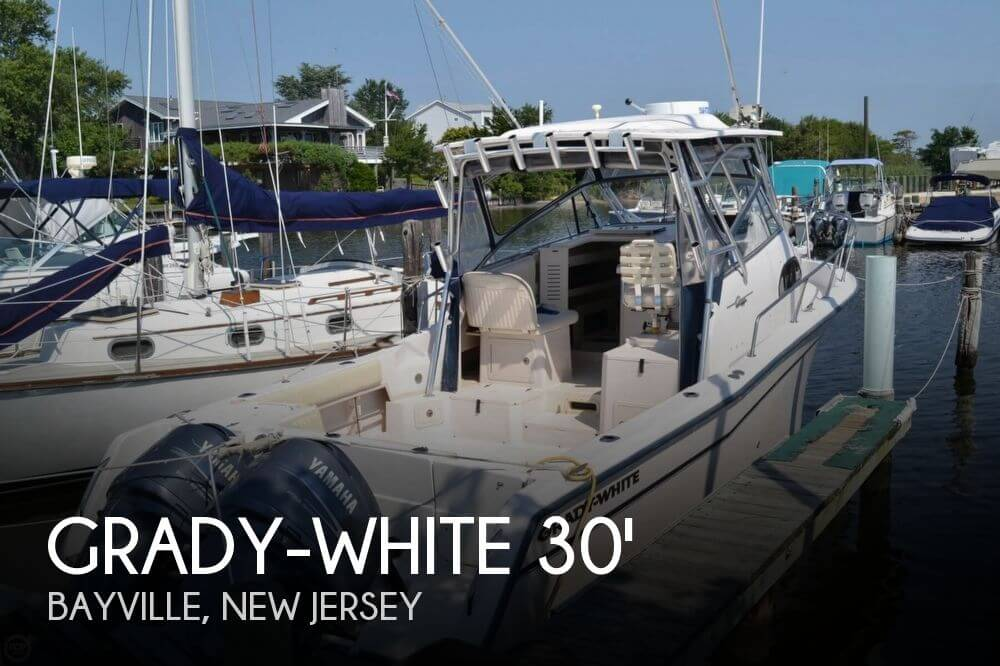 30 foot grady white 30 30 foot white motor boat in for Used outboard motors nj