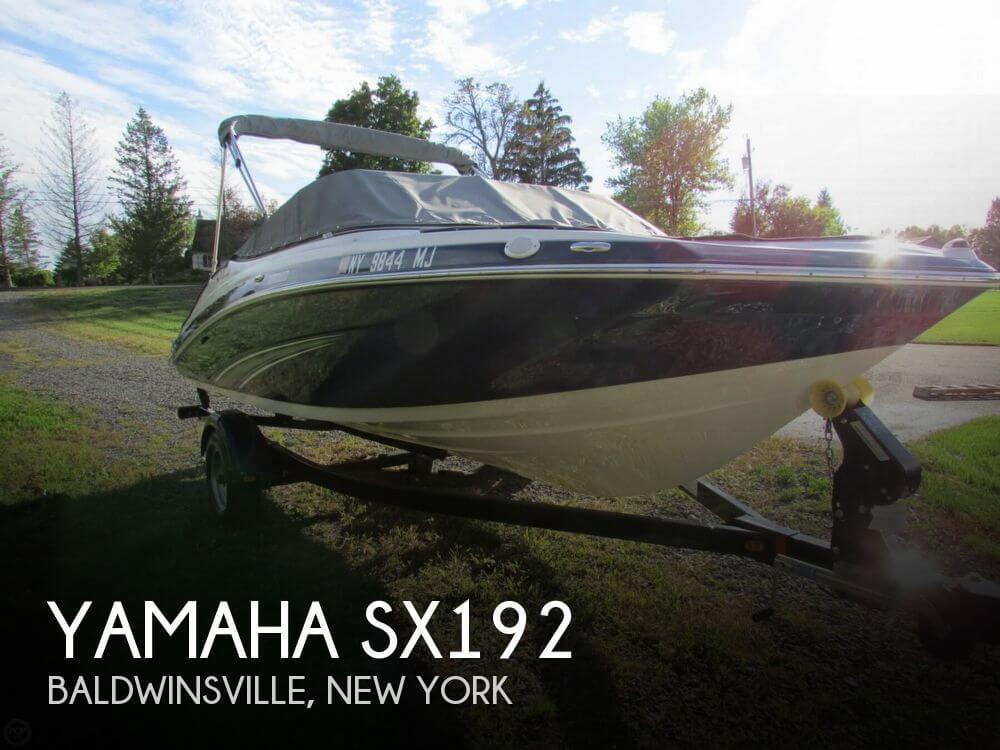 2013 Yamaha SX192 - Photo #1