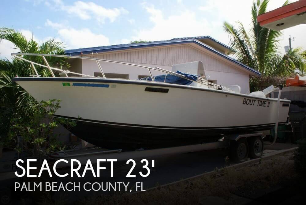 Seacraft 23 master angler for sale in lake worth fl for for Deep sea fishing boats for sale