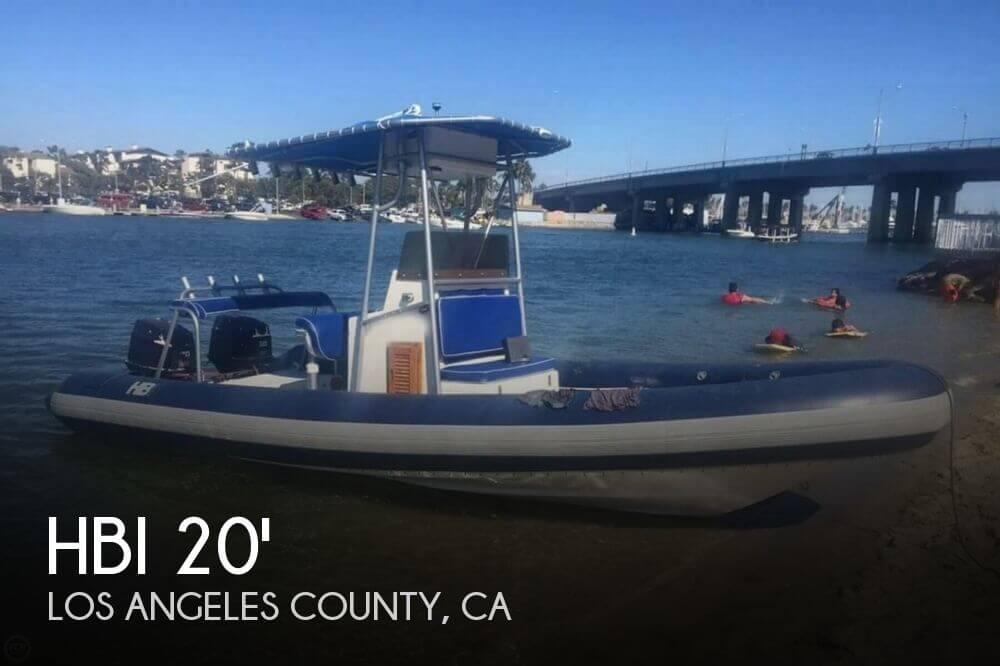 1989 HBI 20.6 Rigid Inflatable Boat - Photo #1
