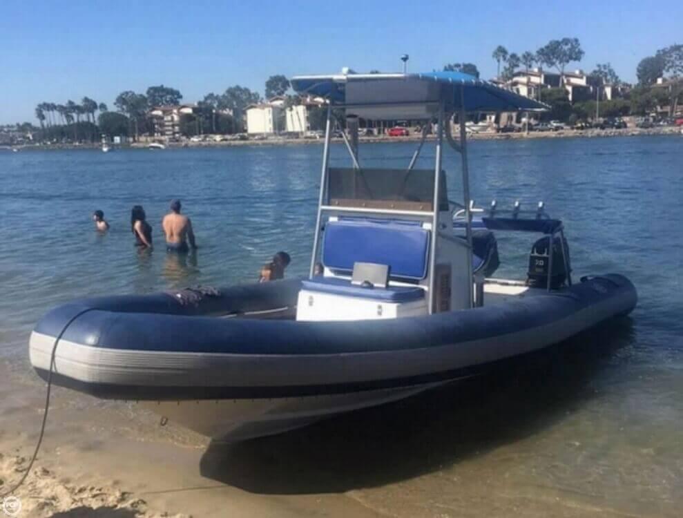1989 HBI 20.6 Rigid Inflatable Boat - Photo #2