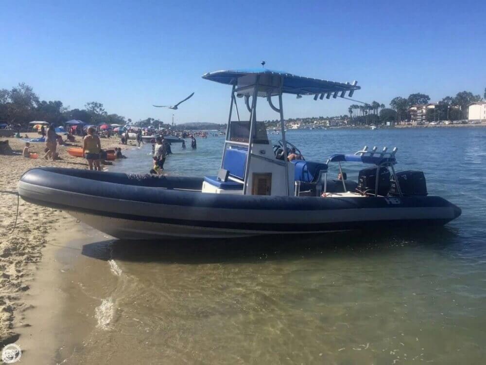 1989 HBI 20.6 Rigid Inflatable Boat - Photo #3