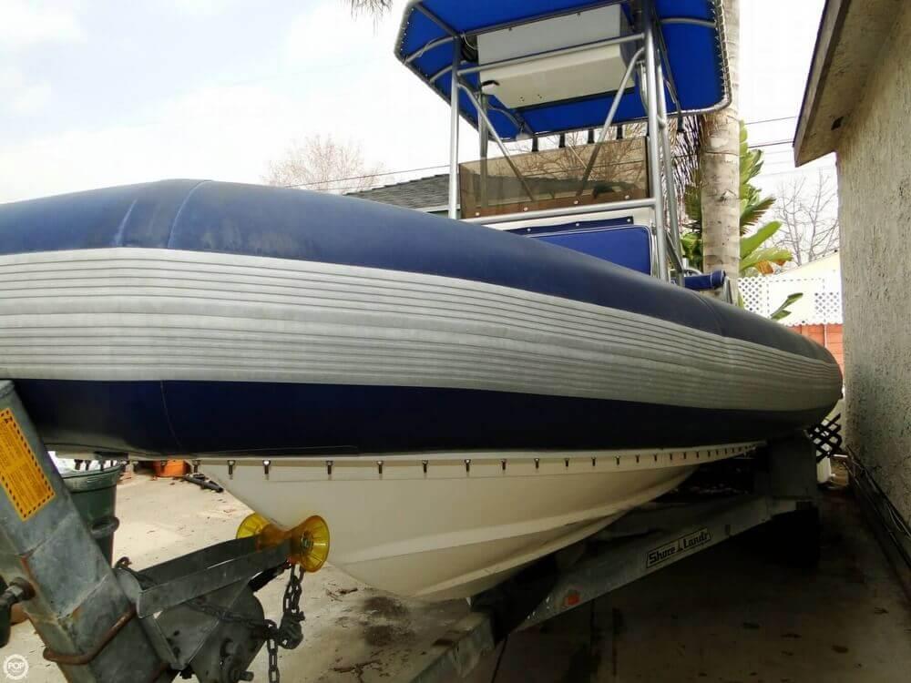 1989 HBI 20.6 Rigid Inflatable Boat - Photo #5