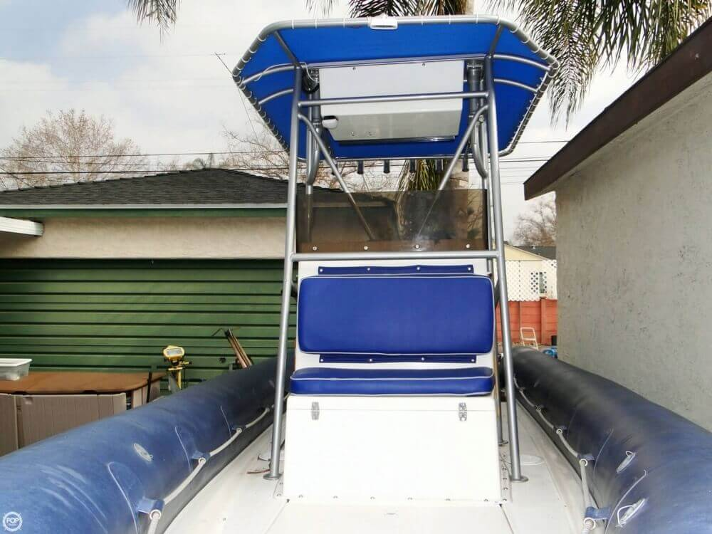 1989 HBI 20.6 Rigid Inflatable Boat - Photo #8