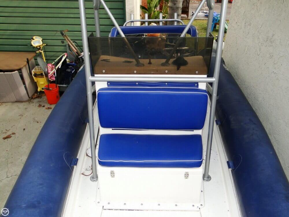 1989 HBI 20.6 Rigid Inflatable Boat - Photo #9