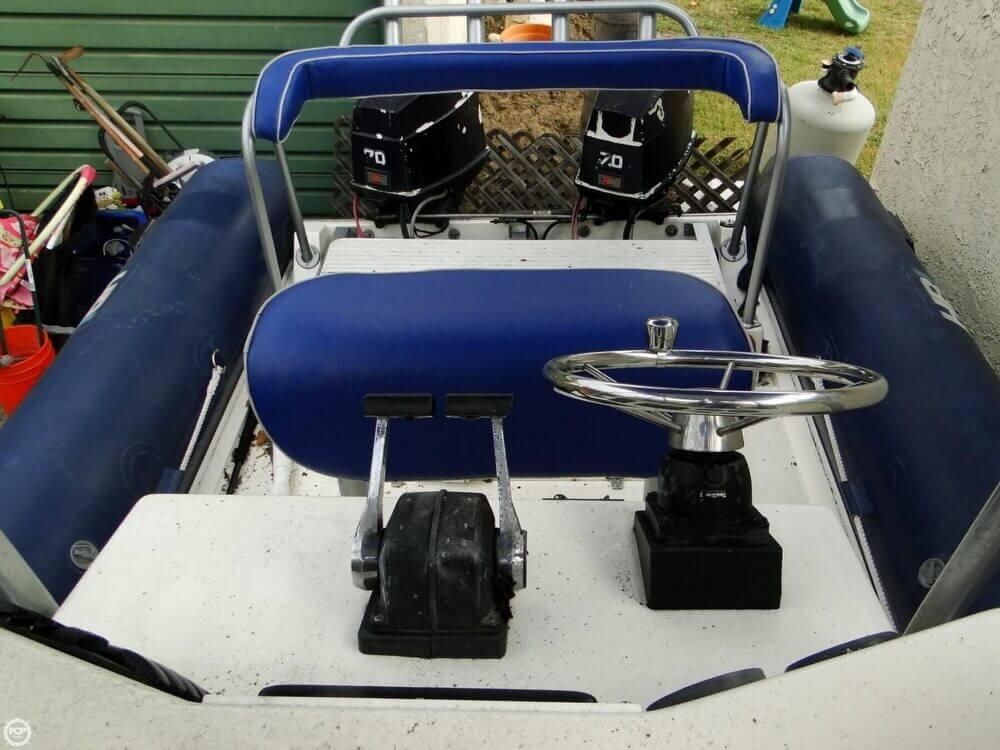 1989 HBI 20.6 Rigid Inflatable Boat - Photo #16