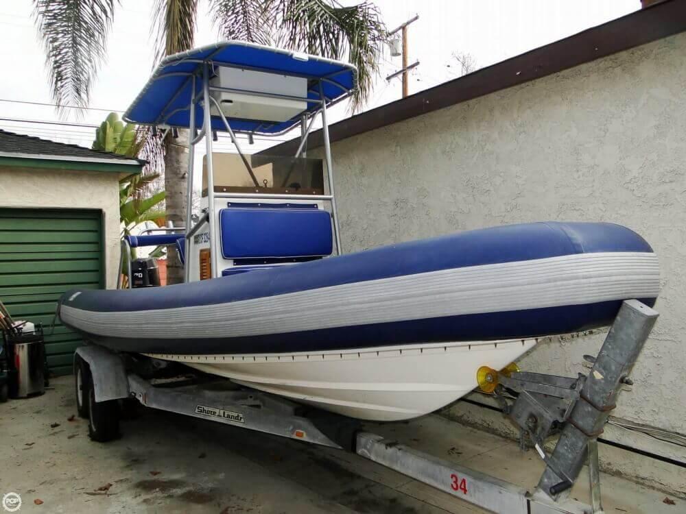 1989 HBI 20.6 Rigid Inflatable Boat - Photo #23