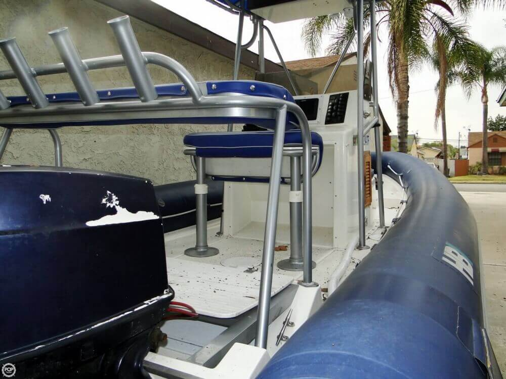 1989 HBI 20.6 Rigid Inflatable Boat - Photo #32