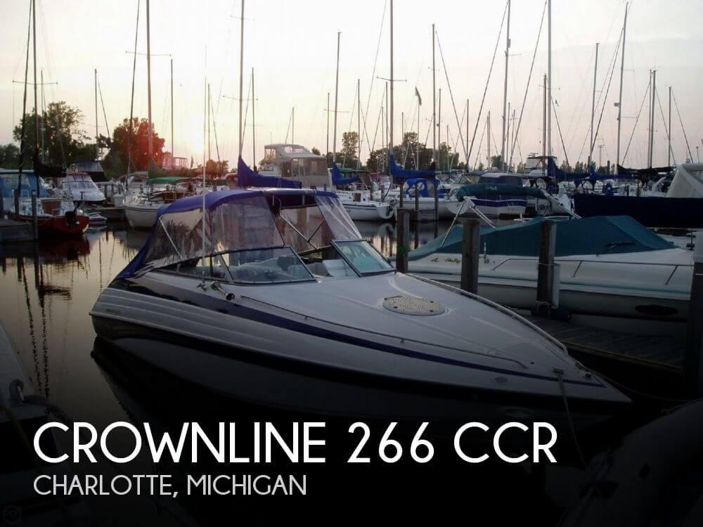1998 Crownline 266 CCR - Photo #1