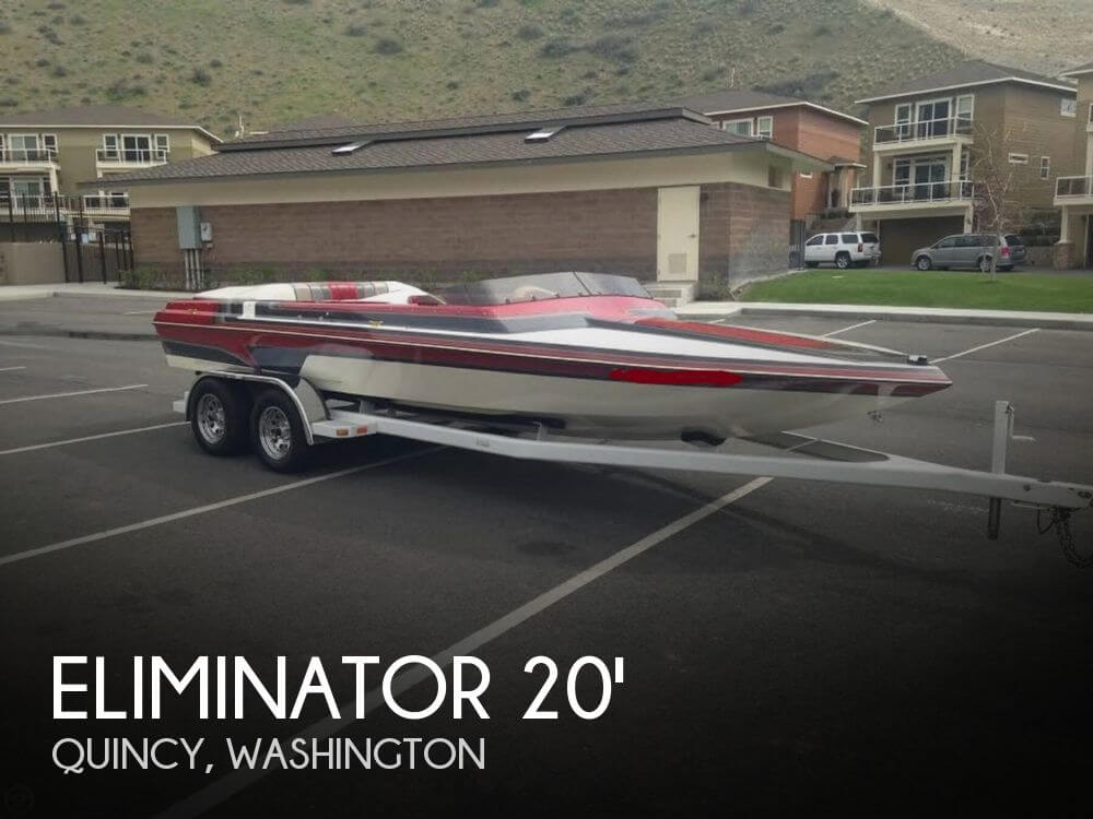 1989 ELIMINATOR 20 SKI COMP I/O for sale
