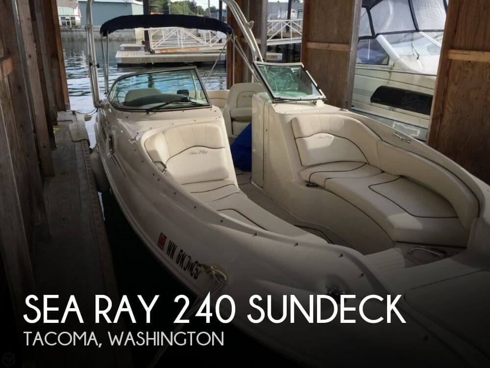 2008 SEA RAY 240 SUNDECK for sale