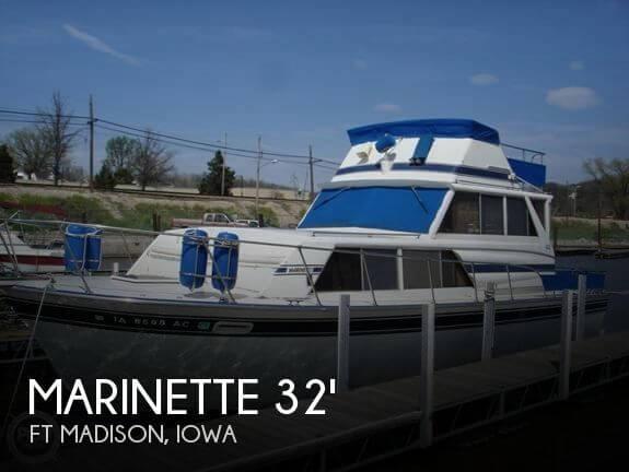 1979 Marinette 32 Sedan FB - Photo #1